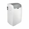 Ide o prenosnú, mobilnú klimatizáciu od značky Whirlpool, ktorá zabezpečuje prevádzku v troch chodoch: chladenia, ventilácie a odvlhčovania.  Súčasťou je praktický časovač, vďaka, ktorýmu si môžete chladenie miestnosti nastaviť na čas, ktorý Vám vyhovuje. Zaujímavé funkcie: šiesty zmysel, Around U, DIM, Sleep, autoreštart, rýchle chladenia, HEPA filter. Chladiaci výkon: 3,5 kW vychladí miestnosť do 35 m2.