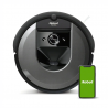 Robotický vysávač iRobot Roomba i7 (7154) disponuje inteligentným mapovaním Imprint, ktorý sa dokonale orientuje v celom priestore. Dokonale povysáva aj obrovský priestor. Určite uvítate aj prvotriednu funkciu automatického vysypávania zberného koša. Čistiaci systém AeroForce má až 3 stupne. Robota je možné ovládať aj pomocou Vášho mobilného telefónu alebo tabletu stačí stlačiť tlačidlo Clean. Už nebudete mať problém s nečistotou pod nábytkom, pri stene, pri rohoch a pri všetkých ťažko dostupných miestach, pretože súčasťou vybavenia sú bočné kefky. Samozrejmosťou je výkonný sací motor.