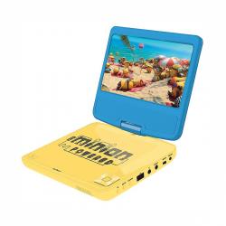 Prenosný DVD prehrávač Lexibook Mimoni s rotujúcou obrazovkou
