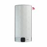 Ariston VELISje kovovo-strieborný ohrievač vody, ktorý má celkový objem nádrže až 65 l a výkon ohrievacieho telesa 1,5 kW. Tento typ bojlera disponuje novinkou Wi-Fi pripojenia. Novinka Vám uľahčí predovšetkým nastavenie optimálnej teploty a objemu vody aj na diaľku. Skontrolovanie aktuálnej teploty vody je možné na BlueTech - LED displeji pomocou, ktorého je možné nastaviť potrebnú teplotu na ohriatie. Skontrolovať sa dá tiež aj aktuálne dostupný počet spŕch a za aký čas bude pripravená voda na ďalšiu sprchu. Bojler patrí do energetickej triedy B. Ariston VELIS WI-FI 80 je možné nainštalovať podľa potreby a to horizontálne alebo vertikálne.