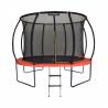 Trampolína Marimex Premium 305 cm má nosnosť až do 150 kg. Súčasťou je až 56 pružín. Maximálnu stabilitu zabezpečujú 4 kvalitné nohy. Trampolína je odolná voči UV žiareniu a tak má aj dlhšiu životnosť. Špeciálna neadhezívna povrchová úprava zabraňuje odreninám pri páde. Súčasťou balenia je rebrík a ochranná sieť.