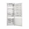 Kombinovaná vstavaná chladnička s mrazničkou dole WHIRLPOOL SP40 801 EU 1. Chladnička disponuje celkovým úžitkovým objemom 400 l. Zaisťuje nízku spotrebu energie so zaradením do energetickej triedy F (norma 2021). Chladiaci priestor sa skladá z 5 sklenených políc a MAXI zásuvky na ovocie a zeleninu. Mraziaci priestor sa delí na 3 priehradky. Disponuje 6.zmyslom, ktorý zaručuje presnú a stálu kontrolu teploty.