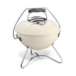 Gril na drevené uhlie Weber Smokey Joe® Premium O 37 cm, Ivory