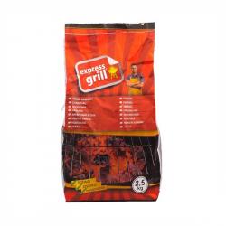 Grilovacie uhlie EXPRESS GRILL 2,5 kg