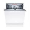 Vstavaná umývačka riadu Bosch SMV4HCX48E je zaradená do energetickej triedy D. Prevádzka je tichá s maximálnou hlučnosťou len 44 dB. Spotrebič je možné ovládať aj na diaľku, vďaka aplikácii Home Connect. K dispozícii je aj ochrana pred pretečením Aqua Sensor. Určite uvítate samočistiaci filtračný systém. Do umývačky riadu sa zmestí až 14 súprav kuchynského riadu.