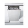 Vstavaná umývačka riadu Whirlpool WSIO 3O34 PFE X disponuje šírkou 45 cm. Umývačka riadu je zaradená do energetickej triedy D. Výhodou je poistka proti úniku vody. Súčasťou je senzorový systém Šiesty zmysel. Ovládanie: elektronické. Úroveň hluku: 44 dB.