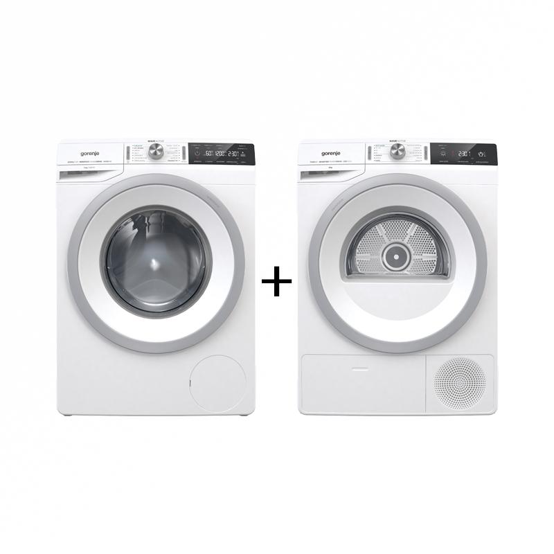 Set Práčka Gorenje W2A824 + Sušička prádla D2A83ILI