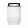 Táto štíhla vstavaná umývačka riadu značky Electrolux ESL4201LO zabezpečí nízku spotrebu energie, pretože je zaradená do energetickej triedy A +. Úroveň hluku, ktorý dosahuje je 51 dB. Maximálna kapacita umývania je 9 jedálenských sad. Spotreba vody na jeden umývací cyklus je len 9, 9 l. Počet programov, ktorými disponuje je 5.