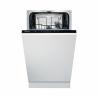 Vstavaná umývačka riadu značky Gorenje GV52010 Vám zaručí nízku spotrebu energie, pretože je zaradená do energetickej triedy A ++. Maximálna kapacita jedálenských sad je 9. Vďaka tomu, že má len 45 cm sa vojde do menšej domácnosti. Na výber máte 5 umývacích programov a 3 teploty vody.  Spotreba vody na jeden umývací cyklus je len 9 l.