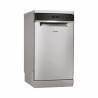 Voľne stojaca umývačka riadu od Whirlpool WSFO 3O23 PF X Vám zaručí nízku spotrebu energie, pretože je zaradená do energetickej triedy A ++. Spotreba vody je 9 l na jeden umývací cyklus. Poskytuje maximálnu kapacitu 10 jedálenských súprav.  Zabezpečuje tichú prevádzku, hlučnosť je len 43 dB.