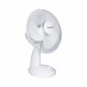 Tento stolový ventilátor značky Orava SF-13 poskytuje na výber z 3 možností nastavenia rýchlostí. Zabezpečená je tichá prevádzka. Výhodou je funkcia oscilácie, ktorá umožňuje otáčať ventilátor v rozmedzí 90°. Súčasťou je ochranná mriežka, ktorá chráni pred poranením.