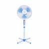Tento stojanový ventilátor značky Orava SF19 zabezpečuje tichú a spoľahlivú prevádzku. Na výber máte 3 rýchlosti. K dispozícii je funkcia oscilácie, ktorá umožňuje otáčanie ventilátora v rozmedzí 90°. Priemer vrtule je 35 cm. Stojanový ventilátor disponuje aj ochrannou mriežkou proti poraneniu.