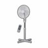 Stojanový ventilátor značky GOODLINE FS 1601CR poskytuje na výber až z 3 rýchlostí. Priemer vrtule dosahuje 40 cm. K dispozícii je funkcia oscilácie, ktorá umožňuje otáčanie ventilátora v rozmedzí 90°. Výhodou je ochrana motora proti prehriatiu a bezpečnostná mriežka proti poraneniu. Súčasťou je diaľkový ovládač, ktorým môžete klímu ovládať.
