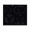 Pri tejto sklokeramickej varnej doske značky ELECTROLUX EHF6547FXK máte na výber zo 4 varných zón. Dve varné zóny sú viackruhové, čo je veľká výhoda pri používaní hrncov rôznych rozmerov. Varná doska sa ovláda dotykovo pomocou senzorických tlačidiel. Súčasťou je aj displej, ktorý ukazuje aký stupeň teploty ste si zvolili. K dispozícii je veľa zaujímavých funkcii: Optiheat Control, Eco Timer, Stop Go, odpočítavač a merač času, detská poistka, indikátor zvyšokového tepla a automatické vypnutie.