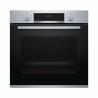 Ide o vstavanú rúru značky BOSCH HBA534ES0, pri ktorej máte k dispozícii až 7 variant pečenia. Veľkou výhodou je 3D teplý vzduch. K dispozícii máte: horný a dolný ohrev, cirkulačný infra gril, veľkoplošný gril, stupeň pre pizzu a jemný teplovzduch. Ovládanie je elektronické s teplotou 50 - 275°C. Súčasťou je aj časovač, na základe ktorého si môžete nastaviť čas, ktorý je potrebný na upečenie jedla.