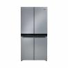 Americká chladnička Whirlpool WQ9 B2L, ktorá zaručí nízku spotrebu energie, pretože je zaradená do energetickej triedy E - energetická norma 2021. Energetická trieda: A++. Celkový objem chladničky predstavuje 591 l. Ovládanie: dotykové prostredníctvom dotykového displeja. Súčasťou je aj zvukový signál, ktorý Vás upozorní na to, že dvere chladničky sú otvorené. Výhodou je tichá prevádzka s maximálnou hlučnosťou len 37 dB.