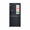 Táto americká dvojdverová chladnička LG GMX844MCKV je zaradená do energetickej triedy F - energetická norma 2021. Energetická trieda: A+. Celkový čistý objem je 423 l. Výhodou je LED osvetlenie, vďaka ktorému máte dokonalý prehľad o Vašich potravinách. K dispozícii je aj WiFi pripojenie. Zabezpečená je tichá prevádzka s maximálnou hlučnosťou len 40 dB.
