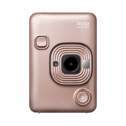 Fotoaparát Fujifilm Instax mini LiPlay Blush gold