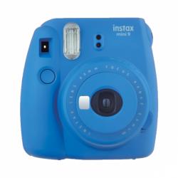 Fotoaparát FujiFilm Instax Mini 9 Cobalt blue + 10 ks film + puzdro