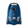 Vreckový vysávač ELECTROLUX EEG41CB je zaradený do energetickej triedy A, čím je zaručená nízka spotreba energie. Celkový výkon motora predstavuje 750 W. Zaručená je tichá prevádzka s maximálnou hlučnosťou len 80 dB.  Prachové vrecko má kapacitu 3 l. Výhodou je prachový filter Hygiene, ktorý uvítajú najmä alergici. Zaujme Vás vysoký výkon, skvelá filtrácia, jednoduché ovládanie a moderný dizajn.