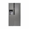 Táto americká chladnička značky LG GSL360ICEV zaradená do energetickej triedy F - energetická norma 2021. Energetická trieda: A+. Na dverách mrazničky sa nachádza výrobník ľadu. Veľkou výhodou je invertorový kompresor, ktorý Vám zaručí dlhú životnosť, nízku spotrebu energie, spoľahlivú a tichú prevádzku. S touto americkou chladničkou je zaručená tichá prevádzka s maximálnou hlučnosťou 39 dB. Mraznička dokáže zmraziť až 12 kg potravín za 24 h.