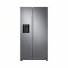 Táto dvojdverová, americká chladnička Samsung RS67N8211S9 je zaradená do energetickej triedy F - energetická norma 2021. Energetická trieda: A++. Zabezpečená tichá prevádzka s maximálnou kapacitou hlučnosti 39 dB. Celková kapacita chladničky: 407 l. Celková kapacita mrazničky: 202 l. Kapacita mrazenia až 12 kg /24 h.