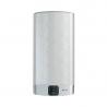 Ariston VELIS EVO je kovovo-strieborný ohrievač vody, ktorý má celkový objem nádrže až 65 l a výkon ohrievacieho telesa 1,5 kW. Tento typ bojlera disponuje novinkou Wi-Fi pripojenia. Novinka Vám uľahčí predovšetkým nastavenie optimálnej teploty a objemu vody aj na diaľku. Skontrolovanie aktuálnej teploty vody je možné na BlueTech - LED displeji pomocou, ktorého je možné nastaviť potrebnú teplotu na ohriatie. Skontrolovať sa dá tiež aj aktuálne dostupný počet spŕch a za aký čas bude pripravená voda na ďalšiu sprchu. Bojler patrí do energetickej triedy B. Ariston VELIS EVO WI-FI 80 je možné nainštalovať podľa potreby a to horizontálne alebo vertikálne.