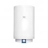 Nástenný elektrický ohrievač vody rady EOV má okrúhle vyhotovenie s obojstranne smaltovanú nádrž a celkovým objemom 80 l. Dlhú životnosť zaručuje nerezová príruba s nerezovým 2 kW ohrievacím telesom. Potrebnú teplotu vody je možné nastaviť otáčavým regulátorom. Na prednej strane nádrže je umiestnený indikátor pre vizuálnu kontrolu teploty vody.  Bojler zaraďujeme do energetickej triedy C. Tatramat EOV 80 je určený na vertikálne nainštalovanie na stenu.