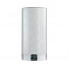 Ariston Velis EVO Plus 100 sa vyznačuje úsporným dizajnom s hĺbkou len 27 cm a objemnou 80 l nádržou s výkonným 1,5 kW ohrievacím telesom. Spotrebaelektrickej energie sazníži o 14%vďaka prispôsobivémuECO EVOprogramu, ktorý si pamätá čas a objem minutej vody. Dotykový displej BlueTech umožňuje jednoduché ovládanie a poskytuje niekoľko informácií týkajúcich sa aktuálneho stavu vody.  Bojler radíme do energetickej triedy B. Ariston Velis EVO Plus 100 môžete nainštalovať na stenu horizontálne alebo vertikálne.