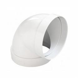 Koleno ABS 90 ° pre rúrky s priemerom 125 mm