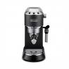 Ide o pákový kávovar DELONGHI EC 685 BK, ktorý disponuje tlakom 15 barov.  Celkový objem zásobníka na vodu je 1,2 l. Príkon je 1300 W. S parnou tryskou si pripravíte lahodnú, zamatovú penu. O potrebne odvápnenia Vás bude informovať signalizácia. Kávovar ovládate pomocou troch elektronických tlačidiel.  Ak sa kávovar dostane do dlhšej nečinnosti automaticky sa vypne, čo šetrí energiu.