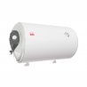 Elektrický ohrievač vody Elíz EURO 80 X je určený pre horizontálnu inštaláciu na stenu. Ponúka objem 80l vďaka čomu je schopný obslúžiť aj viac odberných miest. Výkon dosahuje 2kW s prevádzkou v energetickej triede C. Tepelné straty sú minimalizované hrubou 33mm izoláciou z polyuretánu (EKO, bez CFC) a odolnosť pred vnútornou koróziou zabezpečujú anódové tyče. Termostat má široký teplotný rozsah - umožňuje nastaviť teplotu vody v rozsahu 7 - 75 °C. Spustený proces výhrevu vody indikuje svetelná kontrolka.