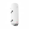 Kombinovaný tlakový ohrievač Elíz EURO 80 T je okrem elektrického výhrevného telesa vybavený aj vykurovacím výmenníkom (možnosť pripojiť na kotol ÚK). Ohrievač s výkonom 2kW sa efektivitou radí do energetickej triedy B, čomu napomáha aj kvalitná 33mm izolácia z eko polyuretánu (minimalizuje tepelné straty). Ohreje až 80 litrov vody, na Vami zvolenú teplotu (v rozsahu 7 - 75°C). Ochrana proti korózii ocele zirkónovým smaltom a anódovými tyčami.