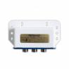 Ide o prepínač Amiko D 201 DiseqC 1.0 , ktorý určený na prepínanie medzi 2 satelitnými LNB konvertormi. Je pre vnútorné, ale aj vonkajšie použitie a nachádza sa v plastovom kryte. Jeho frekvenčný rozsah je 950 - 2400 MHz.