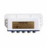 Tento prepínač Amiko D 401 DiseqC 1.0 disponuje 4 vstupmi a 1 výstupom. Jeho frekvenčný rozsah je 950 - 2400 MHz. Je určený nielen pre vnútorné, ale aj vonkajšie použitie, pretože je chránený plastovým krytom. Umožňuje prepínanie medzi štyrmi LNB konvertormi.