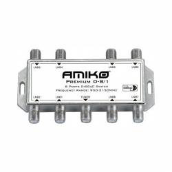 Multiprepínač Amiko D 801DiseqC 1.2