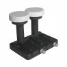 LBN konvertor značky Zircon Twin M-0243 Slim line. Šumové číslo je vyhovujúcich 0,2 dB. Hmotnosť konvertora je iba 260 gramov. Vhodný pre 80 cm parabolu.