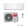 Nástenná klimatizácia VIVAX ACP12CH35AERI disponuje výkonom 3520 W. Je vhodná do miestnosti, ktorá má do 45 m2. Súčasťou tohto setu v R dizajne je aj vnútorná a vonkajšia jednotka. So špeciálnou technológiou 3D invertora máte zaručenú nízku spotrebu energie, dlhú životnosť a tichú prevádzku. Bio filter a ionizátor zabezpečia maximálnu čistotu vzduchu, čo uvítate najmä ak máte v domácnosti alergikov alebo malé deti. Klimatizácia je zaradená pri chladení do energetickej triedy A ++ a kúrení do A +. Ak si dokúpite WiFi modul dokážete ovládať zariadenie pomocou WiFi.