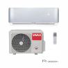 Nástennú klimatizáciu Vivax ACP-12CH35AERI ponúkame v R dizajne v striebornom prevedení. Celkový výkon predstavuje 3520 W. Súčasťou vybavenia je vnútorná a vonkajšia jednotka. Vhodná je do miestnosti, ktorá má do 45 m2. Špeciálna technológia 3D invertora zabezpečí úsporu energie, nízku hlučnosť a dlhodobú kvalitu. Energetická trieda pri chladení je A ++ a pri kúrení A +.