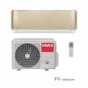 Klimatizácia na stenu Vivax ACP-12CH35AERI GOLD je pri chladení zaradená do energetickej triedy A ++ a pri kúrední do A +. Miestnosť, ktorú dokáže zariadenie vychladiť a vykúriť je do 45 m2. Súčasťou je vnútorná aj vonkajšia jednotka. Špeciálny 3D invertor zabezpečuje nízku spotrebu energie, dlhú životnosť a tichú prevádzku. Čistota vzduchu je zaručená vďaka bio filtru a ionizátoru. Zariadenie je možné ovládať aj prostredníctvom WiFi, ak si zakúpite WiFi modul.