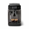 Ide o automatický kávovar Philips EP2224/10, ktorý Vám pripraví dva druhy lahodných káv. Súčasťou je aj penič mlieka, ktorý vytvorí hodvábnu penu napr. do kapučína. K dispozícii je aj mlynček s 12 stupňami hrubosti mletia. Dokonalá rovnováha medzi teplotou varenia a arómou pomáha udržiavať systém Aroma Extract. Kávovar ovládate prostredníctvom dotykového displeja. Kapacita nádoby na kávové zrná je 275 g. Objem nádoby na vodu je 1,8 l.