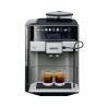 Automatický kávovar SIEMENS TE655203RW disponuje tlakom až 19 barov. Pripraviť si viete až 2 šálky kávy naraz. Objem nádržky na vodu je 1,7 l. Kapacita mlynčeka je 300 g. Určite uvítate aj automatický čistiaci a odvápňovací systém. Zaujímavou je funkcia Aroma double shot, s ktorou si dokážete pripraviť extra silnú kávu.