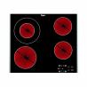 Elektrická, čierna sklokeramická varná doska Whirlpool AKT 8130/LX. Príkon 6,2 kW a šírka panelu 58 cm s bočnými nerezovými lištami. Jednoduché dotykové ovládanie štyroch varných zón v dolnej časti panela. Disponuje funkciami časovač a detská poistka.