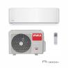 Nástennú klimatizáciu Vivax ACP-18CH50AERI ponúkame v R dizajne a disponuje vonkajšiu aj vnútornou jednotkou. Výkon chladenia predstavuje 5280 W a výkon kúrenia 5570 W. Klimatizácia je vhodná do miestnosti, ktorá má do 80 m2. Energetická trieda chladenia je A ++, energetická trieda kúrenia je A +. Špeciálna technológia 3D invertora výrazne šetrí energiu, zabezpečuje tichú prevádzku a dlhú životnosť. Ak si dokúpite WiFi modul je možné klimatizáciu napojiť na WiFi.