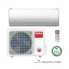 Nástennú klimatizáciu Vivax ACP-18CH50AUJI v J dizajne ponúkame aj s kompletným WiFi pripojením k internetu. Súčasťou vybavenia je vnútorná aj vonkajšia jednotka. Klimatizácia je mimoriadne účinná v systéme vykurovania, aj vďaka kompresoru a ohrievaču kondenzátora. Pri chladení je zaradená do energetickej triedy A ++ a pri kúrení do A +. Vnútorná jednotka je vybavená bio filtroma prachovým filtrom, čo je výhoda najmä pre ľudí, ktorí sú citliví na prach. Výkon pri chladení predstavuje 5270 W a pri kúrení 5370 W. Integrovaná WIFI funkcia - nie je potrebné kupovať modul.