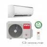 Klimatizácia na stenu Vivax ACP-12CH35AEQI disponuje inteligentnou funkciou rozmrazovania. Súčasťou vybavenia je digitálny displej. Autodiagnostika porúch pomáha predchádzať väčším problémom. Výkon chladenia je 3520 W a výkon kúrenia 3810 W. Energetická trieda chladenie/kúrenie = A++/A+. Zariadenie je vhodné do miestnosti, ktorá má do 45 m2. O čistotu vzduchu sa stará bio filter a funkcia samočistenia.