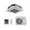Klimatizácia Vivax ACP-12CC35AERI pre stropnú inštaláciu. Tento set vnútornej a vonkajšej jednotky obslúži priestor o veľkosti 45 m2. Úsporné klimatizovanie s energetickou triedou A++ (kúrenie A+). Automatická diagnostika a reštart s pamäťou nastaveného programu pri výpadku elektrickej energie. Prachový a katalytický filter zaistia čistý vzduch bez čpavku a prachových častíc. Dokonalá distribúcia prúdenia vzduchu vďaka 360°Air Flow panelu.