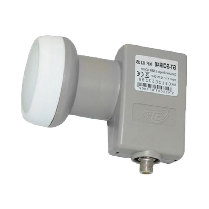 LNB Single konvertor Inverto Flange pre kruhovú polarizáciu