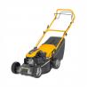 Benzínová kosačka STIGA Collector 48 S s pojazdom. Záber kosenia v šírke 48 cm vhodné pre kosenie plôch do veľkosti 1200 m2. Jednoducho nastaviteľná výška strihu v rozsahu 22 – 65 mm. Zberný kôš na trávu s objemom 60 litrov (voliteľné aj zadné vyhadzovanie). Držiak pre tiahlo štartéra pre pohodlné štarty.