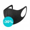 Táto sada obsahuje 2 ks univerzálne rúško na tvár a 4 ks vymeniteľných filtrov s obsahom koloidného striebra. Rúško Dust je certifikované, ako univerzálna ochrana pred škodlivými časticami (prach, vírusy, baktérie...). Pri dezinfikovaní napr. dezinfekčným sprejom je možné použiť ochrannú masku aj viackrát. Zloženie: 80% polyamid, 20% spandex, kt. spĺňa európsku technickú normu EN14683.